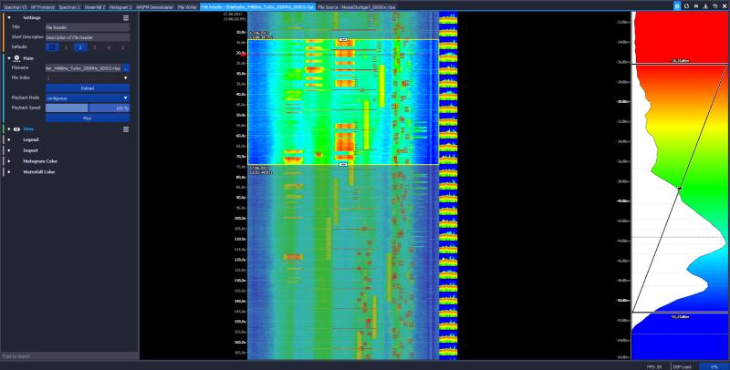 aaronia jera misurazione campi magnetici certifica wifi
